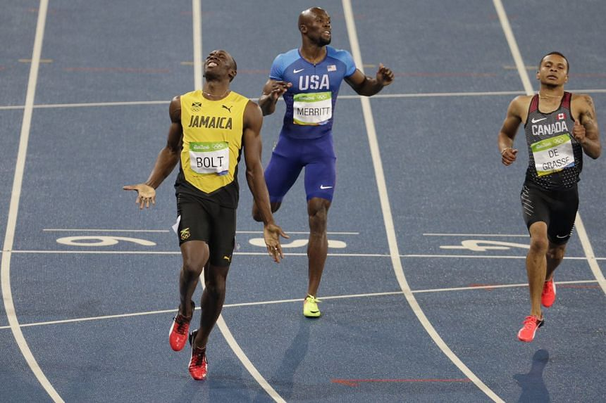 The gold medal is Usain Bolt's eighth. He could clinch his ninth on Saturday morning.