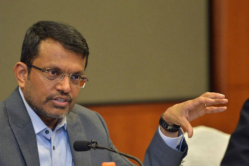 Ravi Menon, managing director of MAS, at the MAS Annual Report Media Conference on July 25.