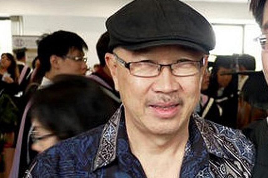 The Gallop Park Good Class Bungalow (left) belonging to Mr Tan Kok Keng (top) was sold for $16.8 million around July 6. Mr Tan's son, Mark Tan Peng Liat (above), is accused of putting a fatal headlock and chokehold on his father, after an argument be