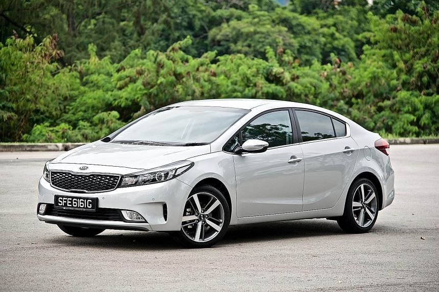 The Kia Cerato Forte K3 may not drive better than other saloons, but it offers value- packed features.