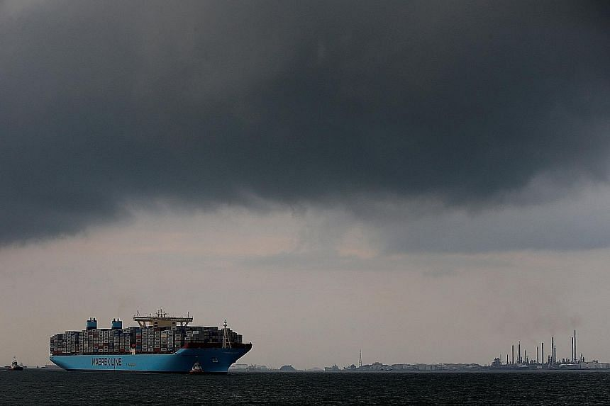 """The new """"Maersk Transport"""" company would include the Maersk Line (left), APM Terminals, Maersk Tankers and the Damco and Svitzer divisions, according to a report in Berlingske newspaper."""