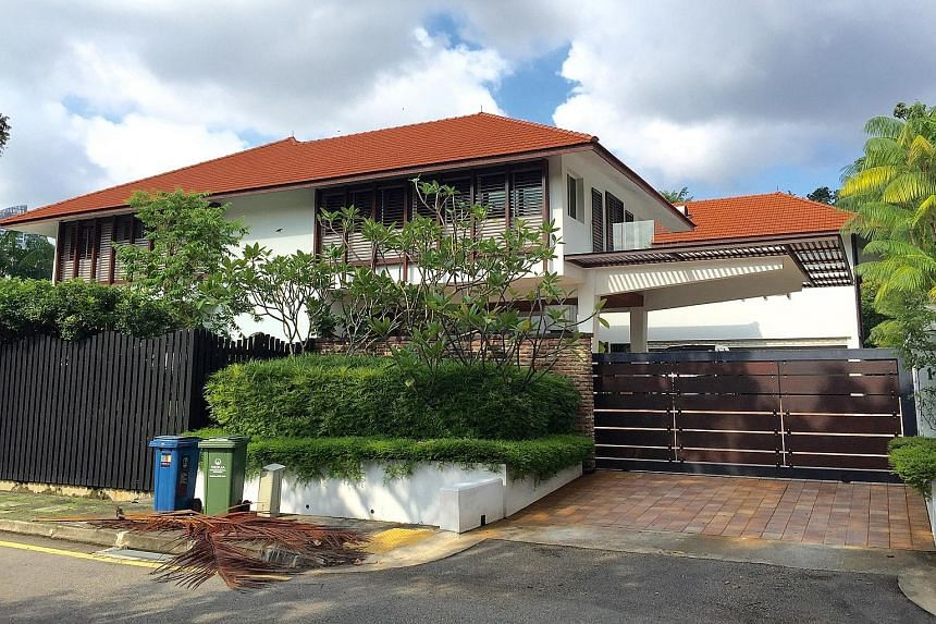 This GCB in Bukit Tunggal Road has a price tag of $38 million and a built-up area of about 14,000 sq ft. OUE is buying two GCB plots around Eden Hall in Nassim Road from the British government for $56.58 million.