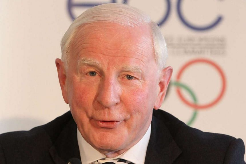 Pat Hickey (above, in 2013) is being held while police probe his involvement in a plot to illegally resell Olympic tickets.