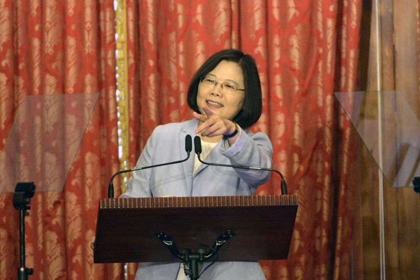 Taiwan President Tsai Ing-wen took office in May and has been reluctant to disavow calls for formal independence.
