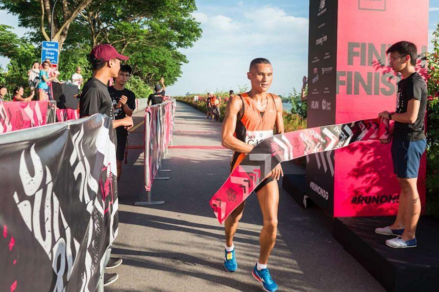 Nimesh Gurung, 29, emerged the champion, finishing his race in 23 minutes.
