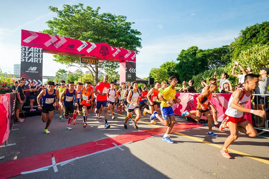 More than 5,000 participants turned up for the New Balance Run On Singapore 2016 at Gardens By the Bay.