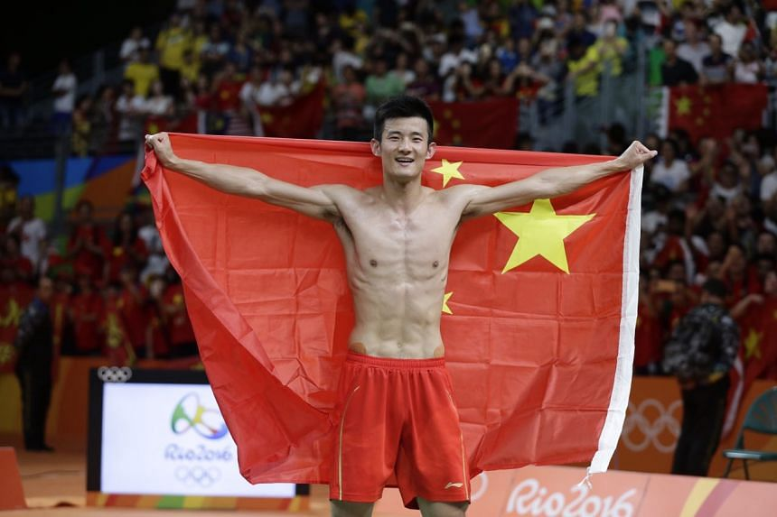 China's Chen Long beat Lee 21-18, 21-18 on Saturday.