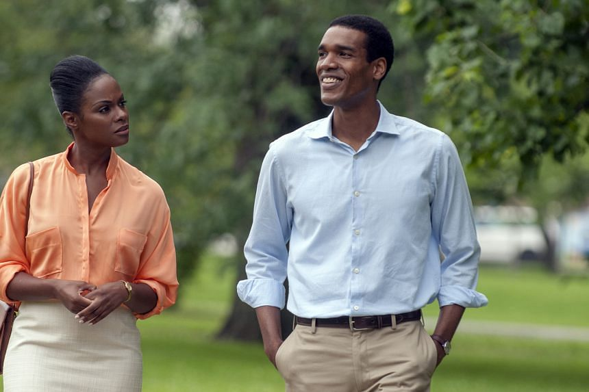 Parker Sawyers and Tika Sumpter play the Obamas in Southside With You.