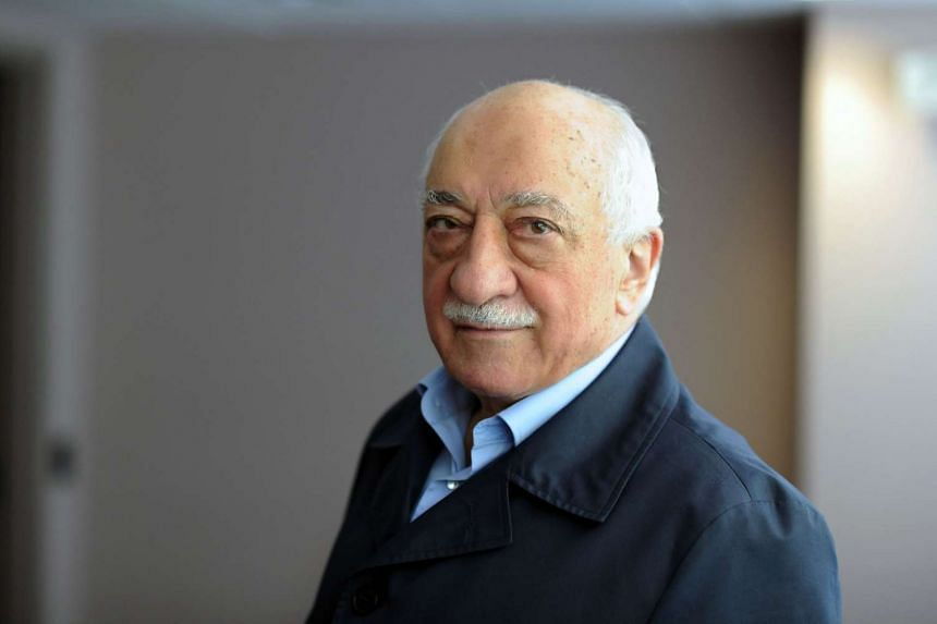 Exiled Turkish Muslim preacher Fethullah Gulen at his residence in Saylorsburg, Pennsylvania.