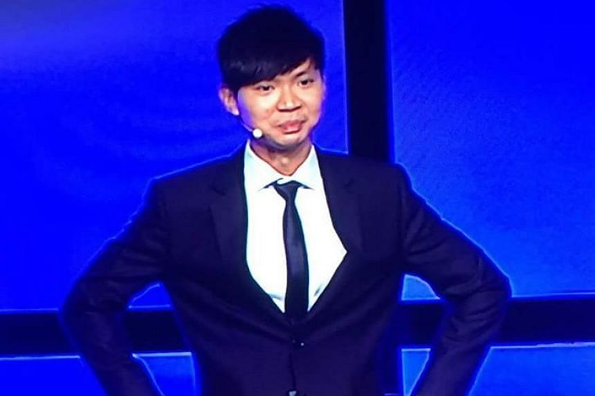 Lawyer Darren Tay beat nine other orators to take the top spot at the annual World Championship of Public Speaking in Washington, DC on Saturday (Aug 20).