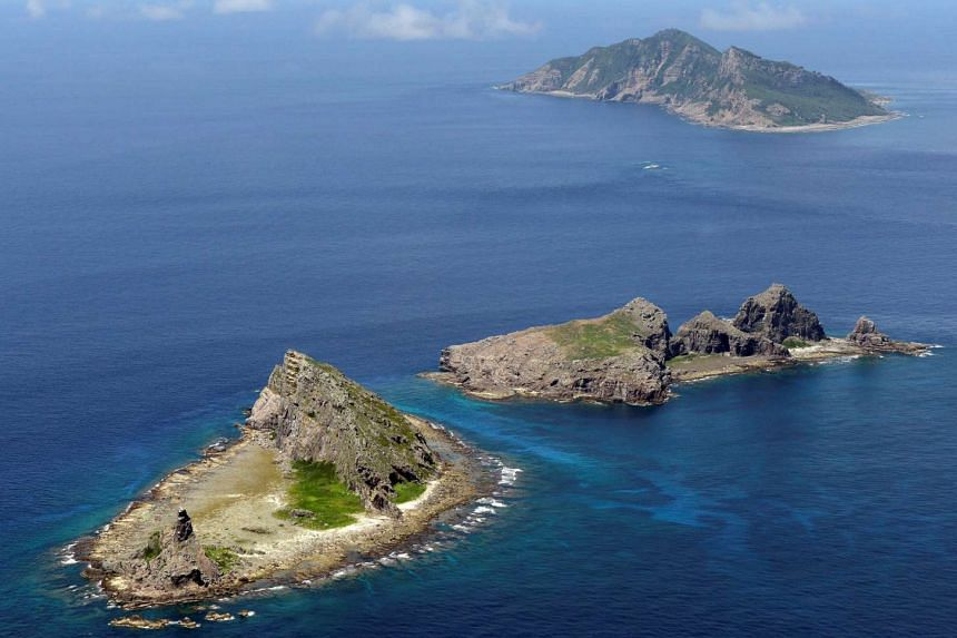 A group of disputed islands known as Senkaku in Japan and Diaoyu in China.