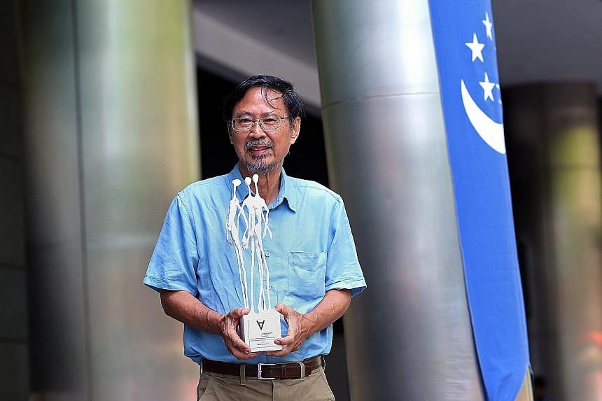 """Dr Ho Hua Chew is the first person to be named """"Outstanding Advocate of our Time"""" by the Singapore Advocacy Awards. He led the Nature Society in a quest to conserve Sungei Buloh."""