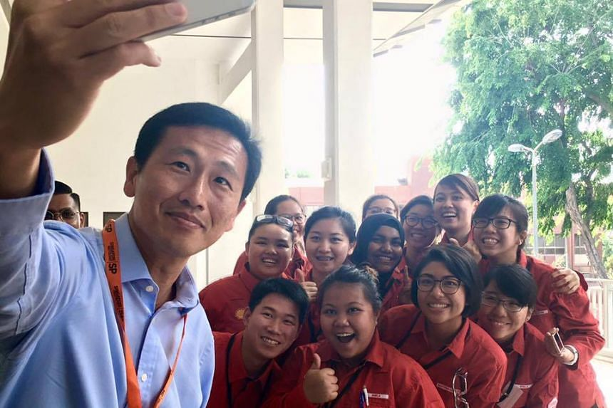 Acting Minister for Education (Higher Education and Skills) Ong Ye Kung at the launch of SkillsFuture Earn and Learn Programme for the Energy and Chemicals sector on August 22.