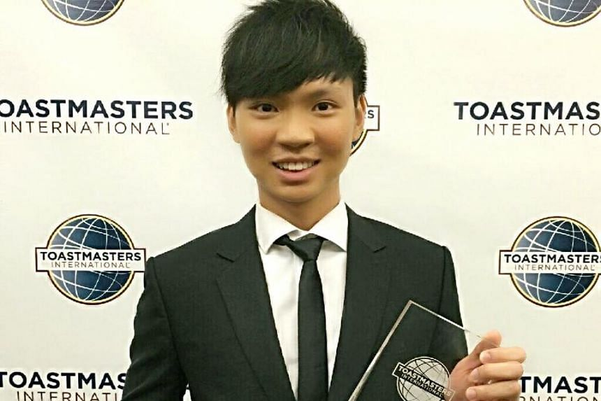 Mr Darren Tay became the first Singaporean to win the World Championship of Public Speaking in Washington, DC, on August 20.