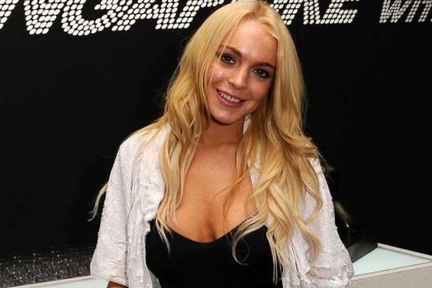 Lindsay Lohan sent Russian Channel One television a list of demands after appearing on a chat show.