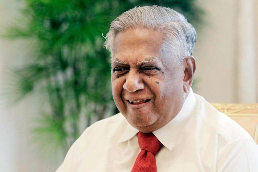 President SR Nathan at the Istana on Mar 10, 2011.