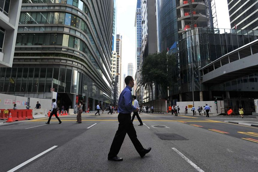 Figures from the MAS show that the corporate debt market grew at a compound annual rate of 14 per cent from 2010 to 2014.
