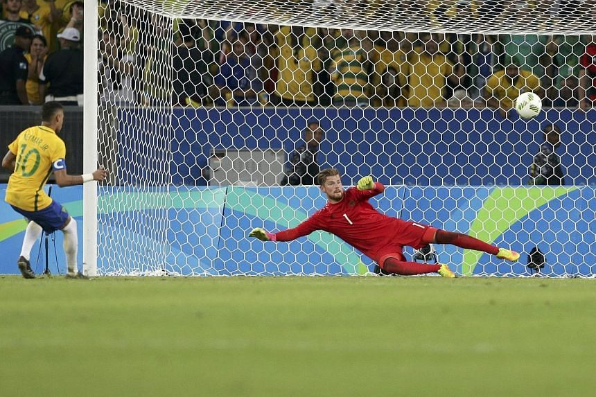 Neymar slotting the winning penalty kick past Timo Horn in the shoot-out to let Brazil claim the coveted gold medal.