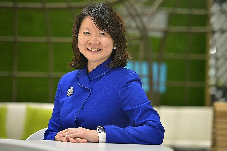 """Ms Ho, SingPost's chief commercial officer, is not afraid to take risks. """"If you see a road less travelled, but you're confident that you can do really well, take that plunge,"""" she advises."""