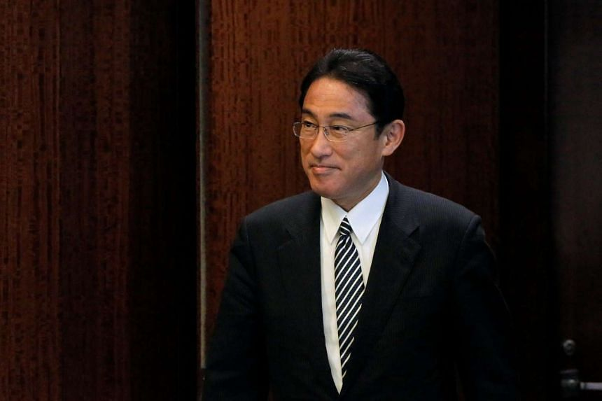 Japanese Foreign Minister Fumio Kishida is set to host a dinner for his Chinese and South Korean counterparts on Tuesday (Aug 23) night.