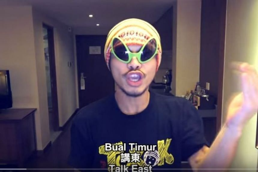 Rapper Namewee has generated controversy in Malaysia with his music video Oh My God!