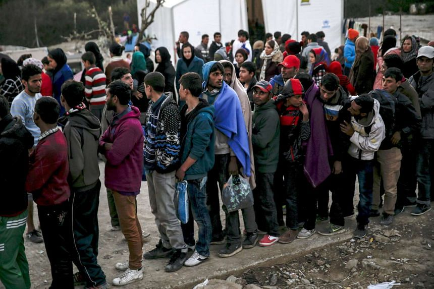 Less than 50 per cent of respondents expressed empathy for refugees.