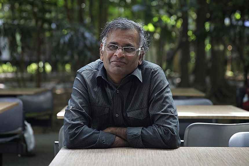 Writer B. Jeyamohan has written more than 50 novels, short-story collections and non-fiction works.