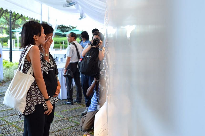 """Ms Hilma Hanapi, 33, with her mother Madam Sarinam Mohd, 63, said: """"Mr Nathan will be deeply missed."""""""