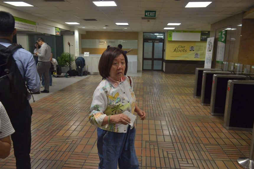 Singapore's ambassador to Mexico Jennie Chua arriving at SGH on Aug 22, 2016.