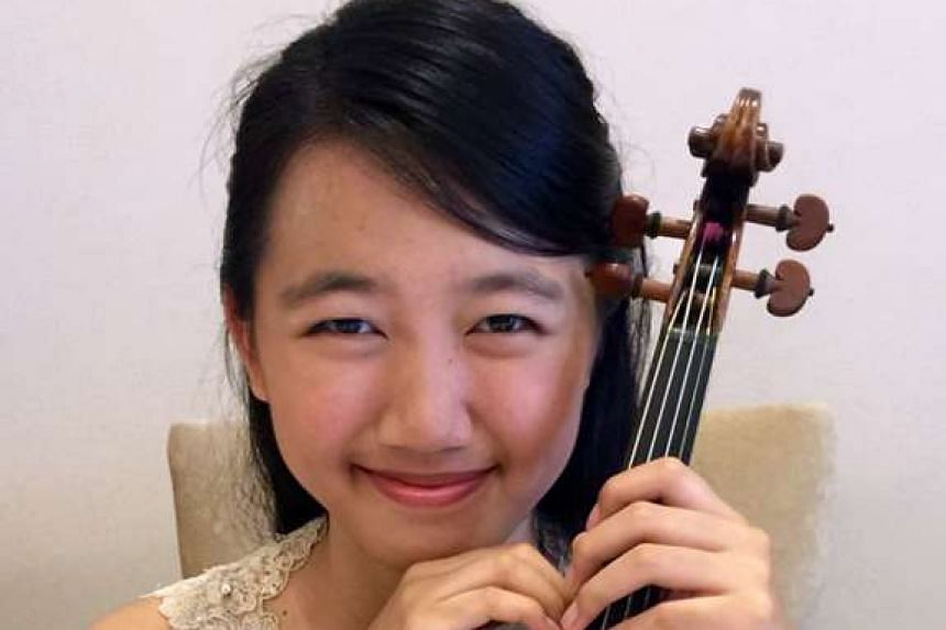 For the auditions, Mathea Goh challenged herself by learning three new pieces in 21/2 months.