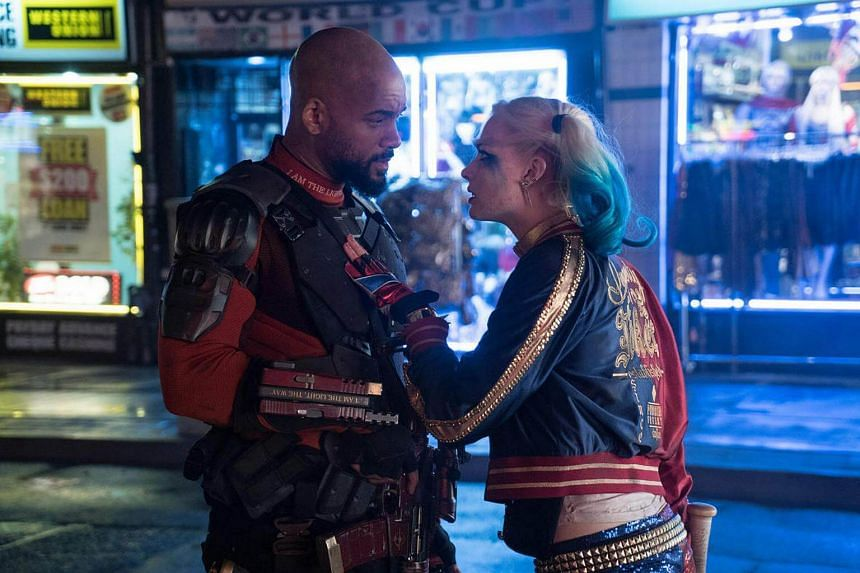 A cinema still from the movie Suicide Squad.