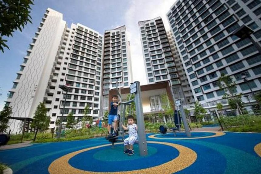 Hougang Capeview, the BTO project by HDB.