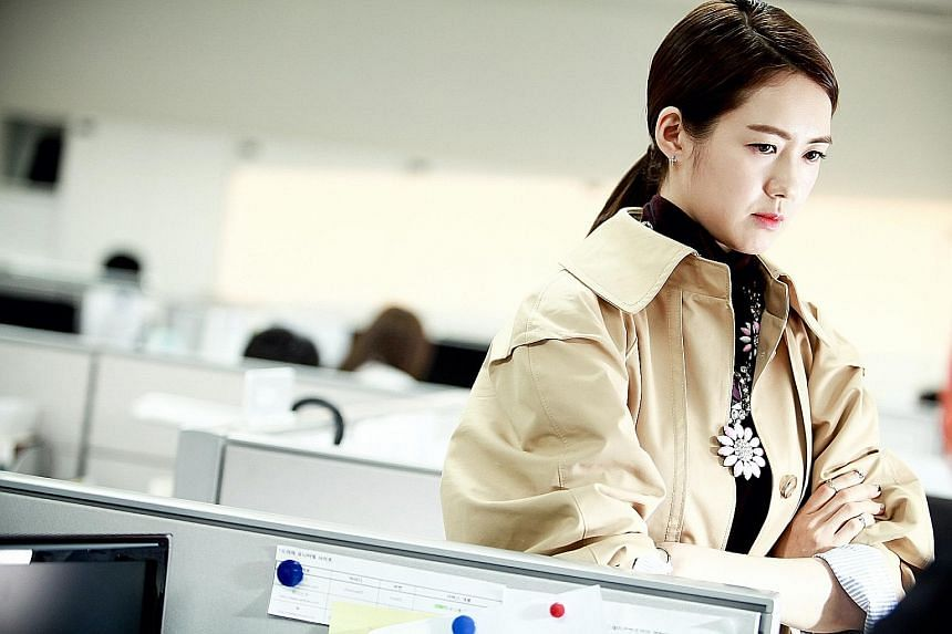 My Horrible Boss' hot-tempered female boss Ok Da Jung is played by Lee Yo Won (above).