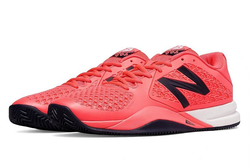 The New Balance MC 996v2 is well suited for hard courts, which most tennis facilities in Singapore have.