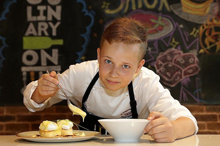 Junior MasterChef Russia winner Alexey Starostin will hold a masterclass for children.