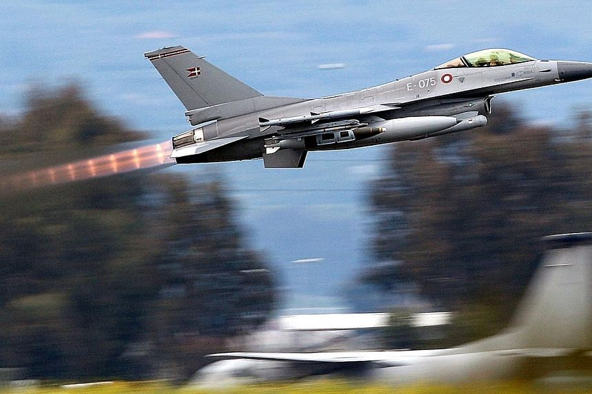 """Lockheed's proposal will breathe new life into the F-16, an older model than the stealth F-35 warplane, create jobs under Mr Modi's """"Make in India"""" policy and may allow his government to choke off key supplies of the fighter jets and their spare part"""