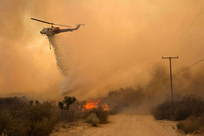 Firefighters in California said on Aug 22, 2016 that they were making progress slowing the advance of several devastating wildfires.
