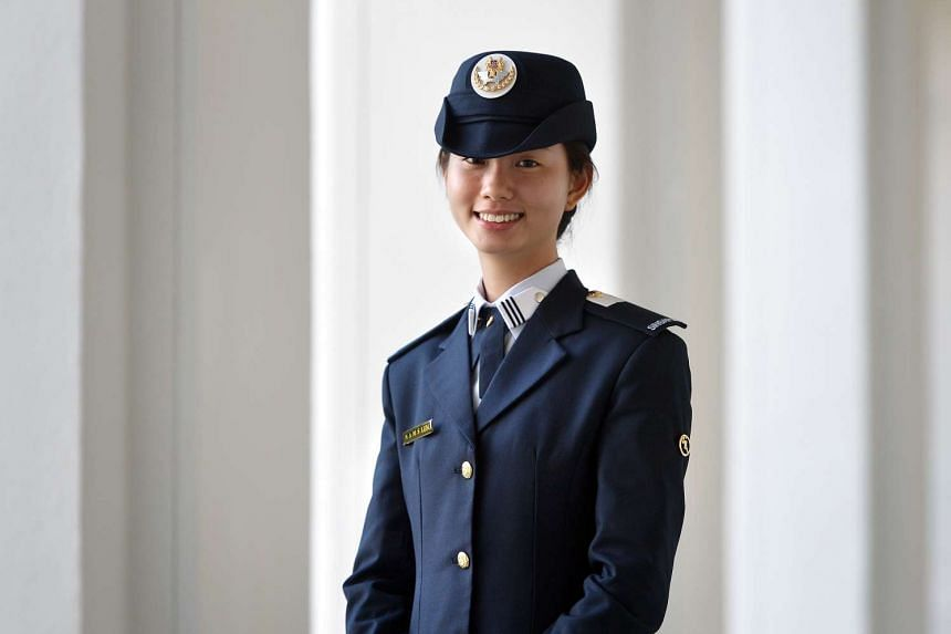 Natasha Ann Lum received the President's Scholarship at the awards ceremony on August 23.