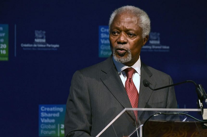 Former United Nations chief Kofi Annan was picked to lead a commission to stop human rights abuses in Rakhine.