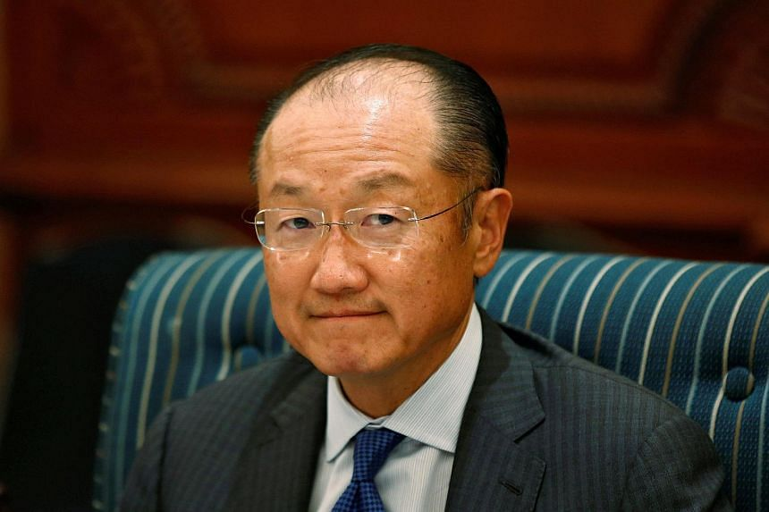 World Bank chief Kim Yong Jim will seek a second term of office.