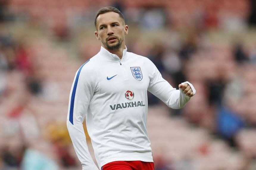 England's Danny Drinkwater warms up before the England vs Australia International Friendly at Stadium of Light in Sunderland on May 27, 2015.