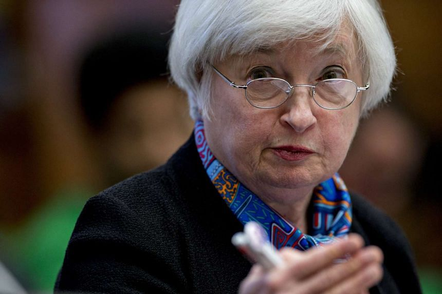 Federal Reserve Chair Janet Yellen speaks during a House Financial Services Committee hearing on June 22, 2016.