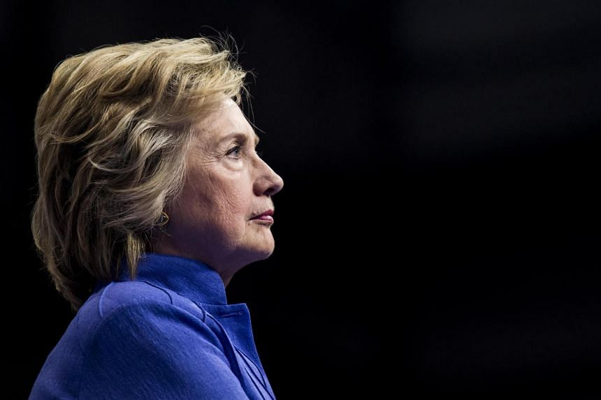 Democrat Hillary Clinton.