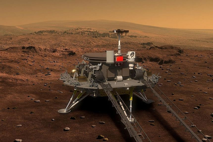 China's rover will have a remote sensing camera and a ground- penetrating radar to study the soil, environment and inner structure of Mars.