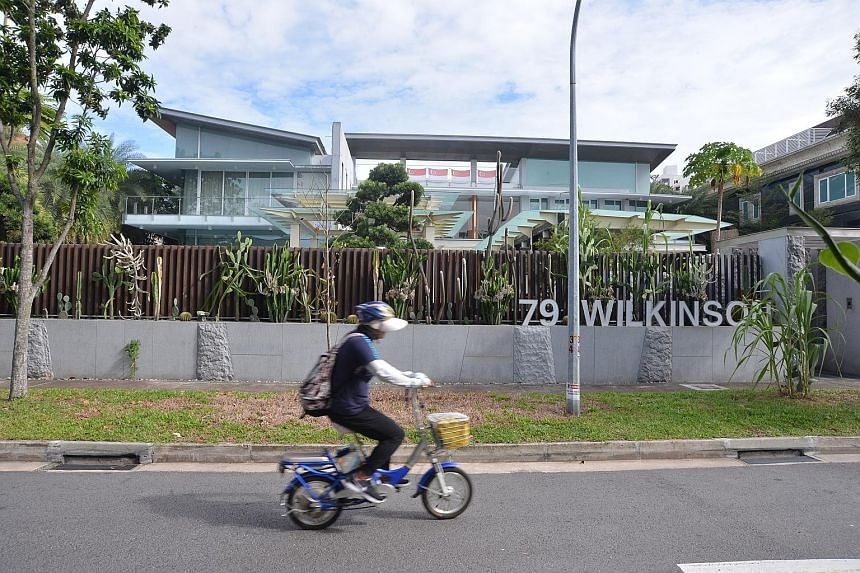 The freehold home at 79, Wilkinson Road was bought for $30 million late last month by Mr Yeah Hiang Nam. The sellers, Mr Ong Teck Beng and Mr Ong Tiong Seng, are directors of or have stakes in several marine services firms that are in receivership.