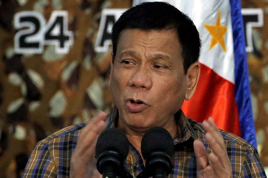 """""""It will be bloody"""" if China attacks the Philippines, says Mr Duterte."""