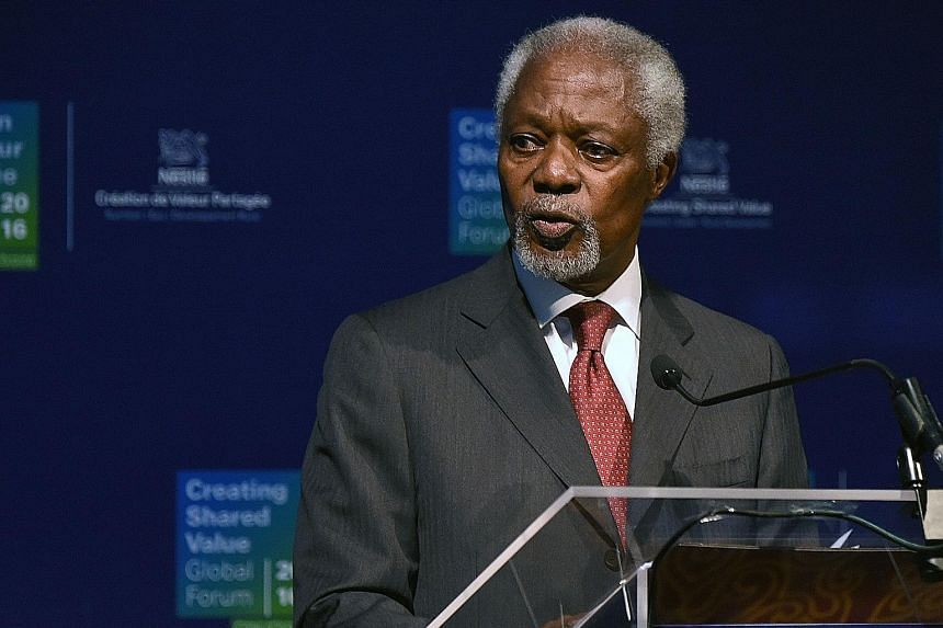 The panel to be headed by Mr Annan will look at conflict prevention, supporting humanitarian assistance and reconciliation.