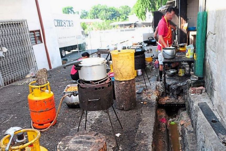 This restaurant in Taman Megah, Cheras, is still operating despite breaking health department rules as a result of poor enforcement.