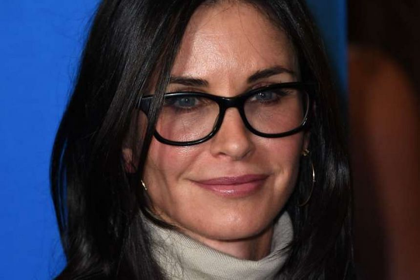Cox (above, in July 2016) says  she is now more relaxed about ageing.