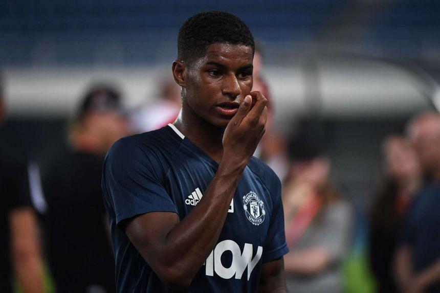 Manchester United striker Marcus Rashford has been called up for the Under-21s for the first time.